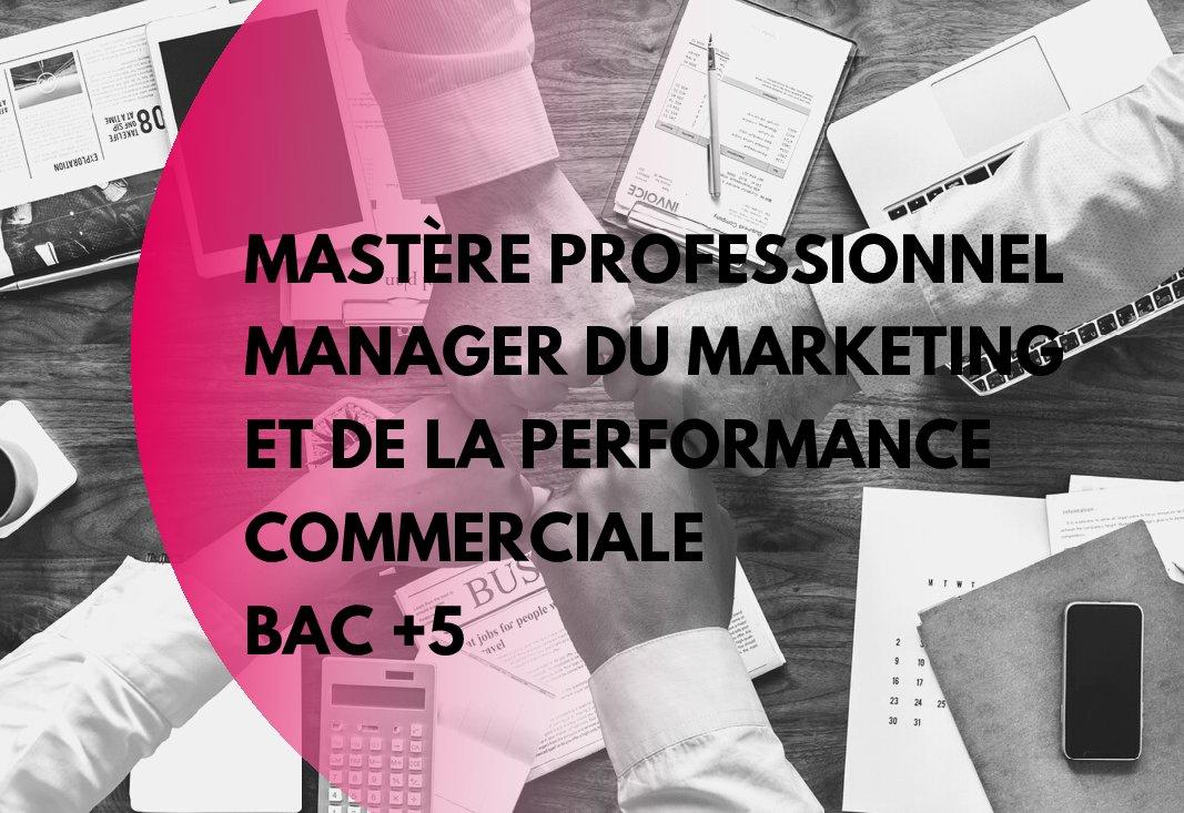 Commerce & Vente : nouvelle formation Bac +5