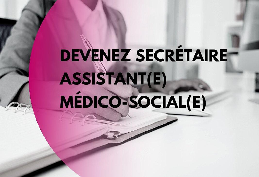 Inscrivez-vous à  notre prochaine formation de Secrétaire Assistant(e) Médico-Social(e) !