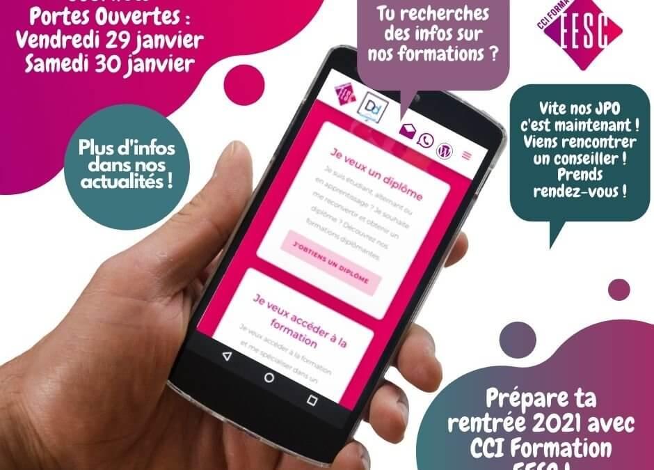 JPO Janvier 2021 : Restez connectés !