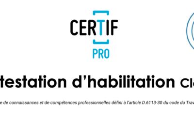 Certification CléA – CIBC54