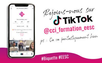 CCI Formation EESC est sur TikTok !